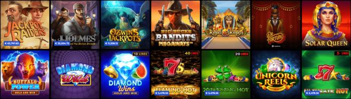 Jackpot Spiele N1 Casino