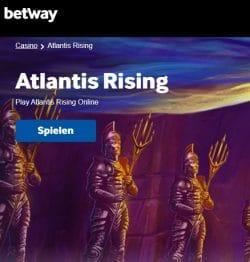 Betway Casino Spielen Atlantis Rising